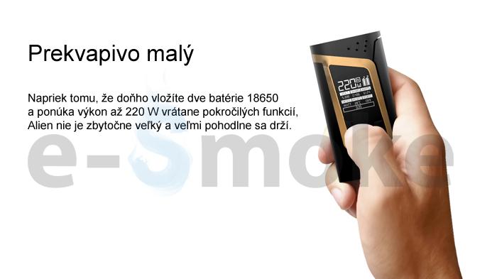 SMOK Alien 220W grip + TFV8 Baby (www.e-smoke.sk)