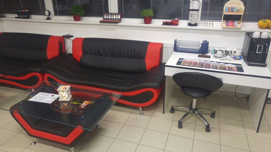 DIY station e-smoke vape shop