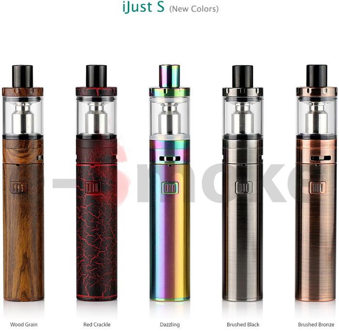 Eleaf iSmoka iJust S new colors (www.e-smoke.sk)