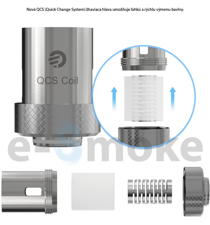 Joyetech QCS head (www.e-smoke.sk)