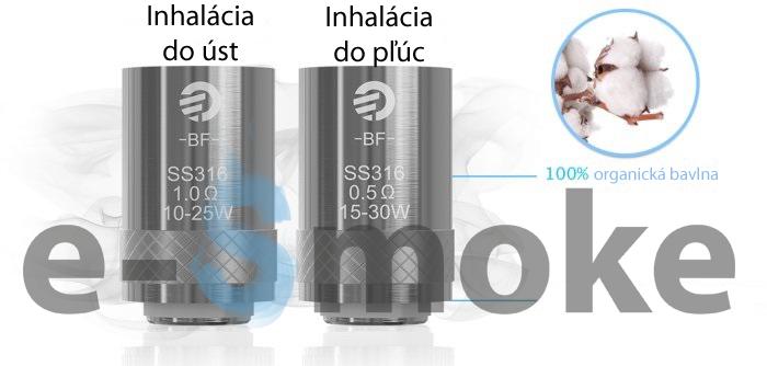 Joyetech SS316 žhaviaca hlava (www.e-smoke.sk)