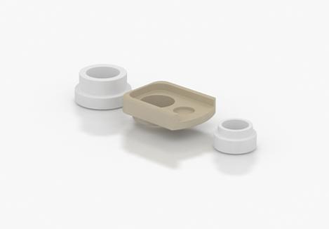 SvoёMesto K5 - Insulators Kit (www.e-smoke.sk)