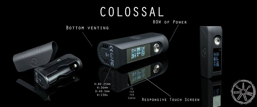 asMODus Colossal 80W at e-smoke vape shop