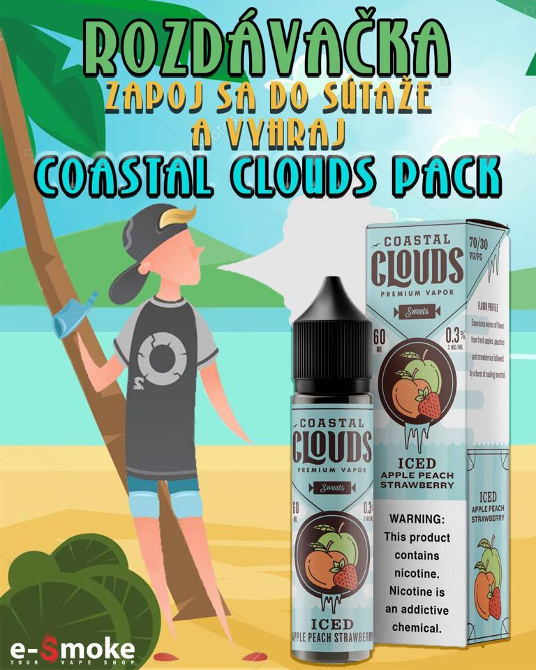 Coastal Clouds giveaway at e-smoke vape shop