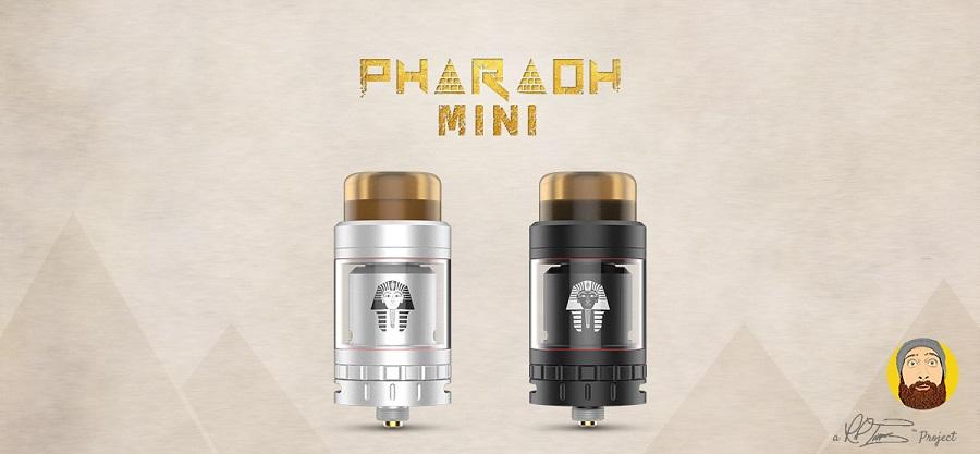Digiflavor Pharaoh Mini RTA at e-smoke vape shop