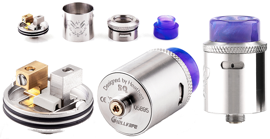 Hellvape Dead Rabbit SQ RDA 22mm at e-smoke vape shop