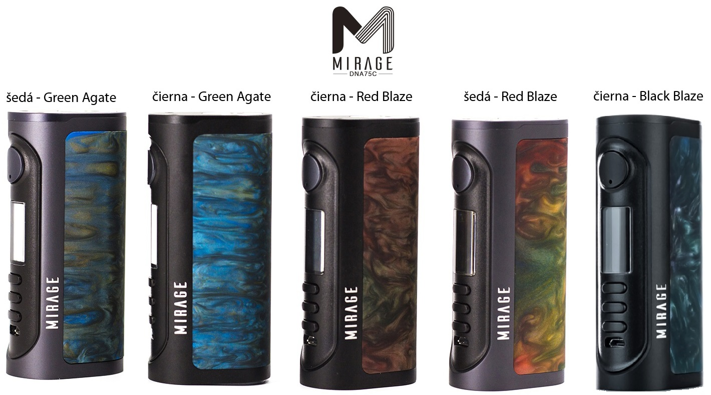 Lost Vape Mirage DNA75C at e-smoke vape shop