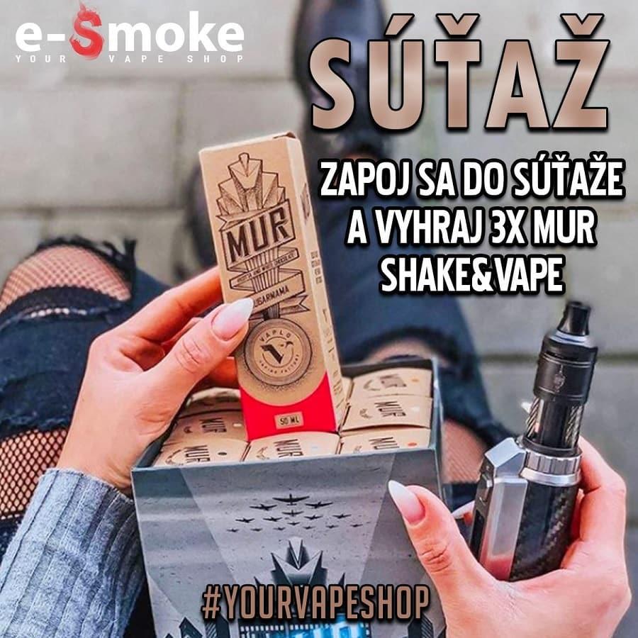 MUR giveaway at e-Smoke vape shop