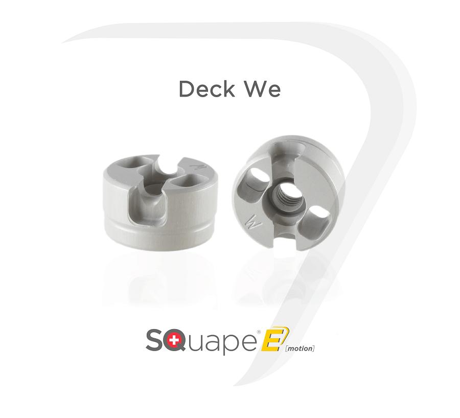 "SQuape Deck ""We"" at e-smoke vape shop"