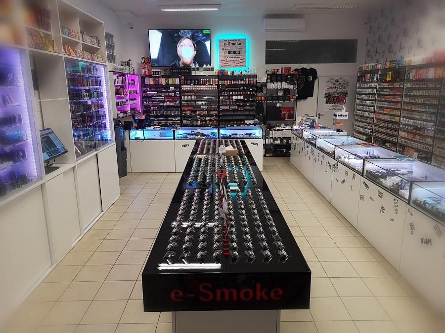 e-smoke vape shop Bratislava - elektronická cigareta