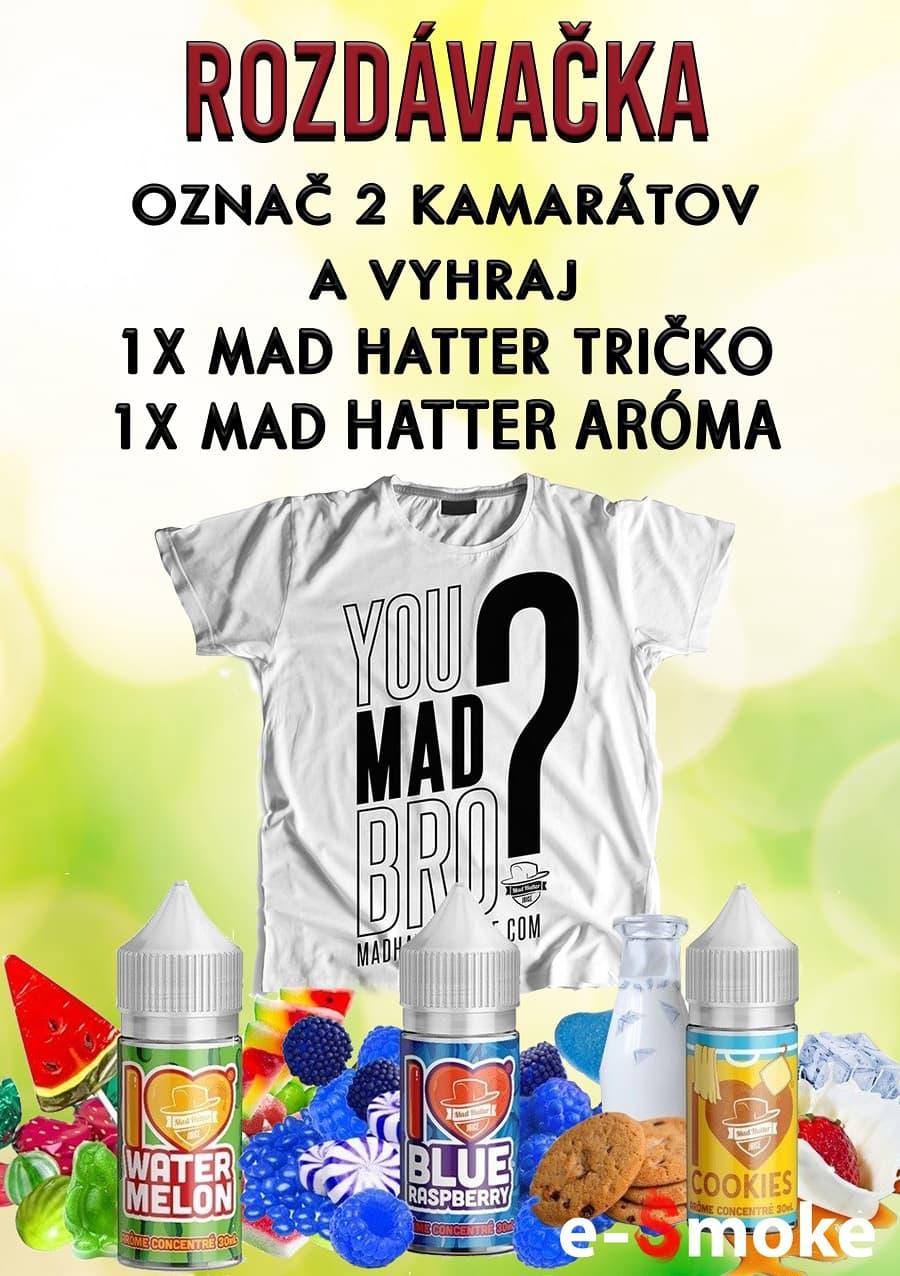 Mad Hatter giveaway at e-smoke vape shop