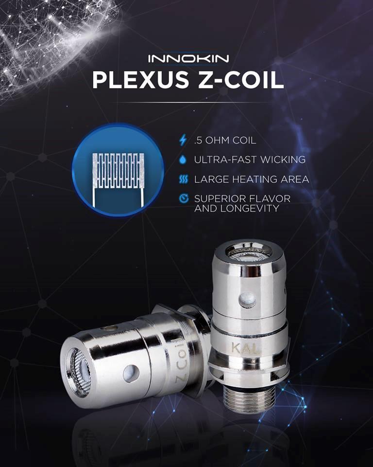 Innokin Plexus Coil at e-smoke vape shop