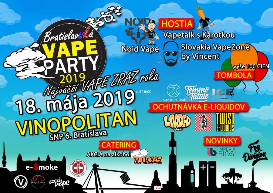 Vape párty 2019